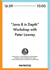 Workshop with Peter Lawrey в Киеве