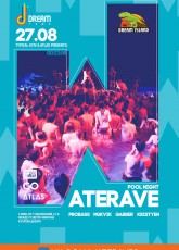 Waterave pool party Dream town в Киеве