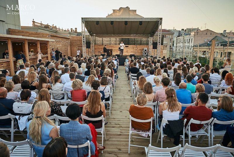 Концерт Стихи на крыше - Блок.Пастернак.Ахматова